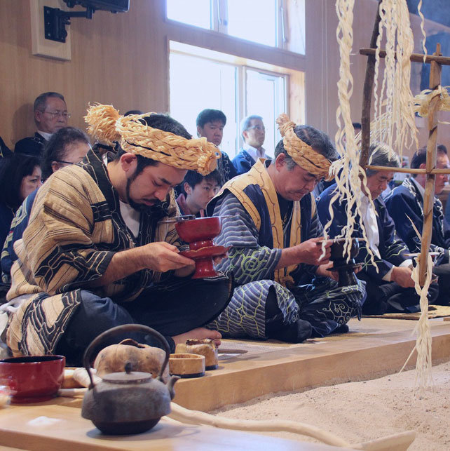 Three major festivals of Shiranuka Ainu